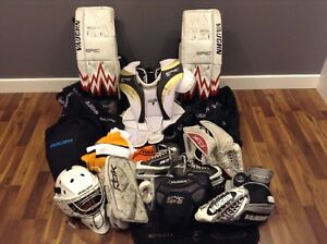 Goalie Equipment For Sale -
