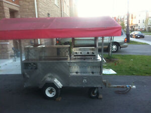 Hotdog cart for sale