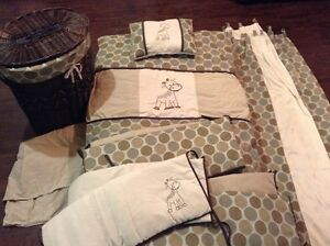 Set de chambre pour enfant berceaux sherbrooke kijiji - Housse de couette girafe ...
