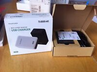 Ravpower 4 port USB charger, opened but unused