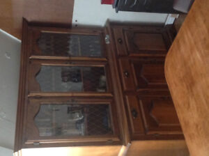 Buffet solid wood
