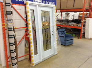 (NEW) Single Entry Door w/ Sidelite @ the Cambridge Restore