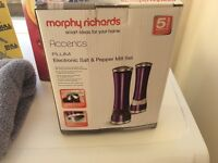Electronic salt and pepper morphy richards