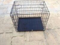 Metal dog cage!