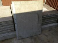 Concrete garage panels