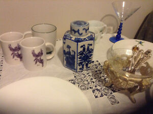 Corelle Dishes, Tea Pot, Chinese Pot, Decorted Dishes