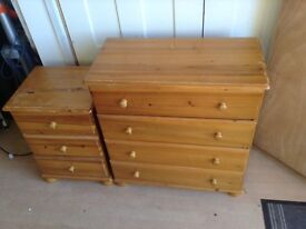 Drawers and bedside drawers