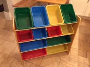 Kid's Toy Bin Organizer