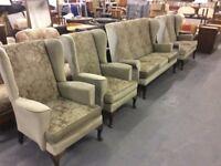 Parker Knoll Style Sofas and 2 Armchairs : Bezpłatna dostawa z Glasgow