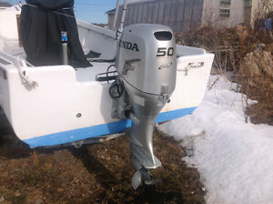 Honda BF 50 outboard motor for sale