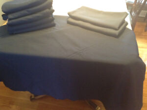 Tablecloths - round square and rectangular