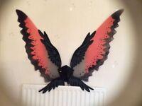 Halloween costume eagle wings