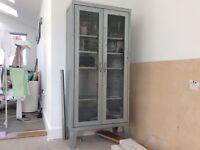 Zinc metal cabinet