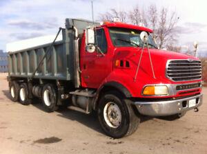 2005 Sterling Tri-Axle Dump Truck