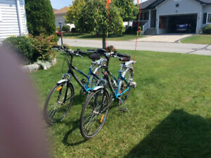 Two (2) ECO TOUR 24 Volt Power, c/w Chargers BIKES!!
