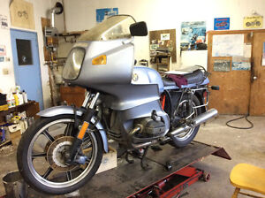 1977 BMW R100 RS MOTORCYCLE FOR SALE $6,200.00