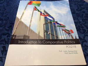 Introduction to Comparative Politics Paperback
