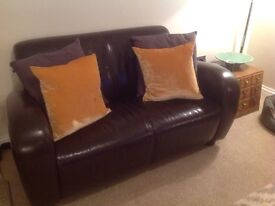 Beautiful condition 2 seater leather sofa