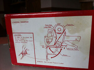 SINGLE LINE HAND LABELLER with ink and rolls Windsor Region Ontario image 4