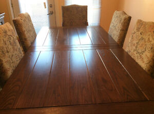Real Wood Dining Room Set West Island Greater Montréal image 4
