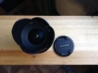 Wide Angle Lens Tokina sd 11 - 16 f. 2.8 (if) DX II for CANON mount