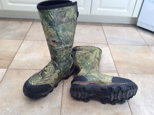 Redwing Irish Setter Waterproof Insulated Hunting Boots size 12
