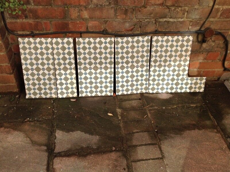 Topps Tiles Victorian Style Henley Cool Tile Offcuts