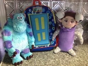Monsters Inc. Collection ( Plushes & Backpack)