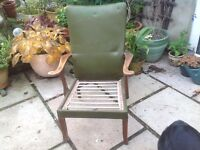 2 Retro Parker Knoll Armchairs for restoration