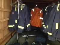 Fire retardant coveralls at give away price