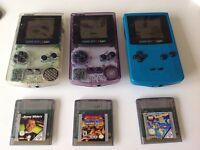 Nintendo GameBoy Color Console & Game Bundles
