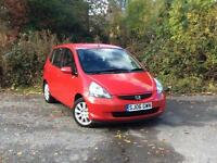 2006 Honda Jazz 1.4i-DSI SE Red 5-door hatchback