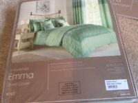Emma Bedding set & matching Curtains - New unopened
