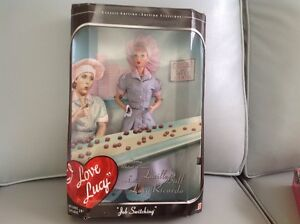I Love Lucy Barbie - NRFB - 'Job Switching'