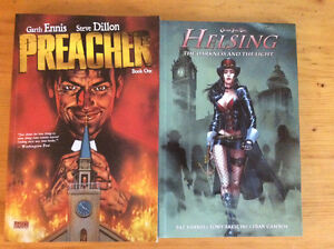 2 graphic novels for sale