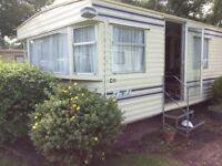 Modern caravan on quiet caravan park near Forres for rent long term