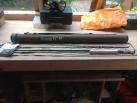 Flextec streamtec fly rod for stream river fishing with hard case new with tags