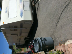 1996 PRISM 24 ft trailer for sale, sold as is for 4000$ or best