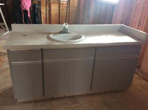 Two bathrooms vanity