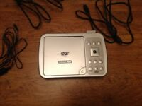 Dual screen DVD player for sale  West Midlands