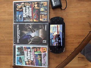 PSP + 3 games