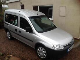 Vauxhall Combo wheel chair access vehicle 2011 30,000 miles