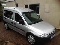 Vauxhall Combo wheel chair access vehicle 2011 30,000 miles