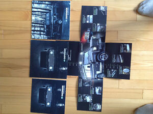 Land Rover books, manuals and brochures
