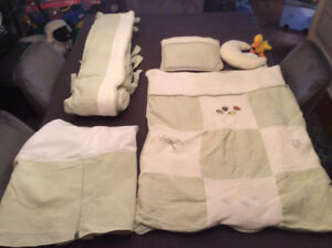 Baby Bedding For Crib, Matching Lamp & Curtains