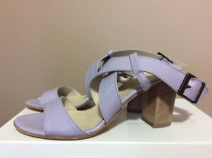 TRU TRUSSARDI Sandals .Leather. Size 39.Made in Italy
