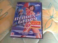 Brand new sealed Blades of Glory DVD starring Will Ferrell