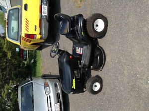 Poland lawn tractor and snowblower