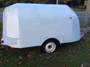 Trailer - Aluminum covered road trailer