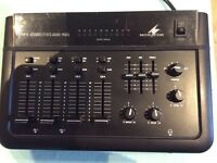 Monacor mpx -4300e 4 channel mixer